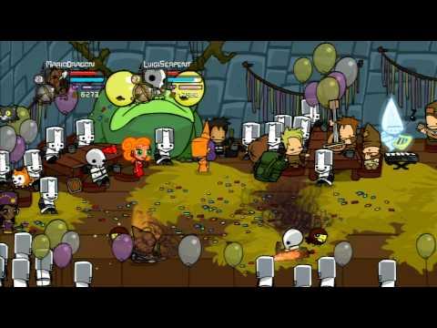 Castle Crashers Walkthrough - Credits + Endgame Deathmatch
