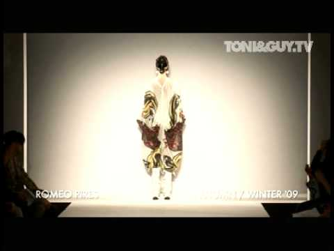 TONI&GUY / ROMEO PIRES PT2, AUTUMN / WINTER  09