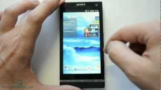 Обзор Sony Xperia S с Android 4.0.4 Ice Cream Sandwich (review)