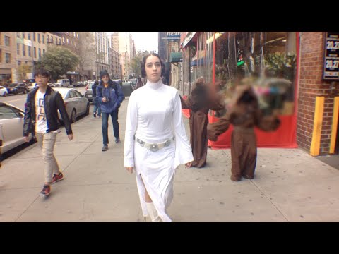 10 Hours Of Princess Leia Walking In Nyc (official Video) video