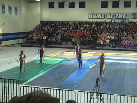 Itawamba Community College Winter Guard - Mar 06 2010