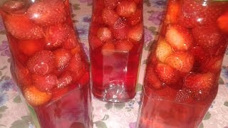 K                 Ciyelek Kompotu  Strawberry Compote