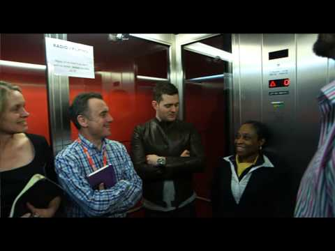 Michael Bublé and Greg James: Lift Hosts