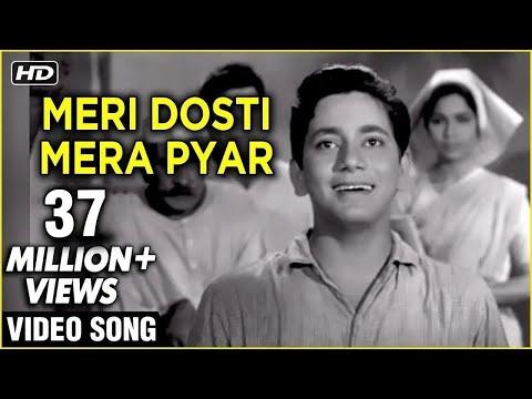 Meri Dosti Mera Pyar - Mohammad Rafi Hit Songs - Laxmikant Pyarelal Songs