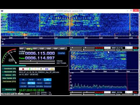 Radio Veritas Asia 6115 kHz received in Germany