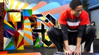 Dubstep Parkour (Freerunning and Gymnastics at Tempest Freerunning Academy)
