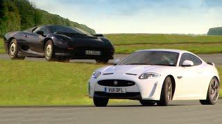 Jaguar XK R-S vs. Jaguar XJ220 - Fifth Gear