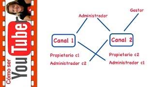 Cómo delegar la gestión en Youtube: administrador y gestor