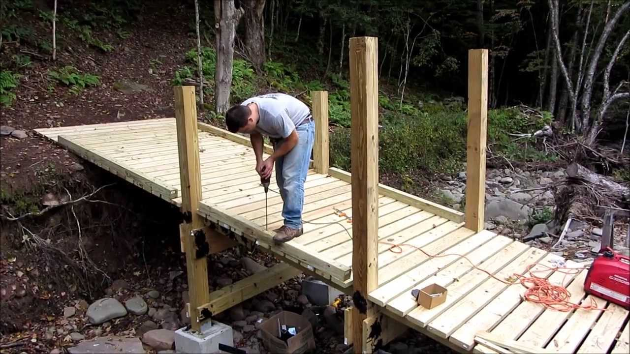 Building An ATV Bridge YouTube