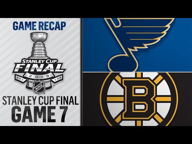 Blues prevail in Game 7, capture first Cup title thumbnail