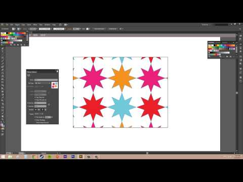Adobe Illustrator CS6 for Beginners - Tutorial 46 - Editing Patterns
