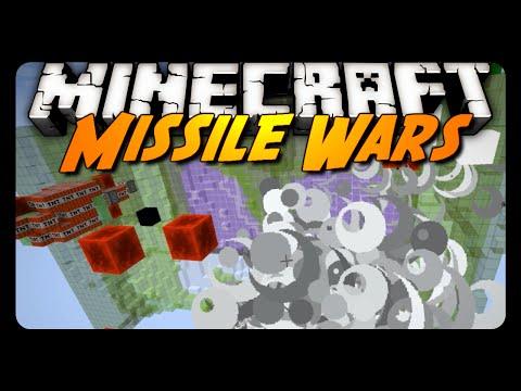Minecraft: MISSILE WARS! (Sethbling & Cubehamster's Map)
