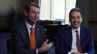 Saban, Swinney set to square off for title again - SportsCenter (01-09-2017)