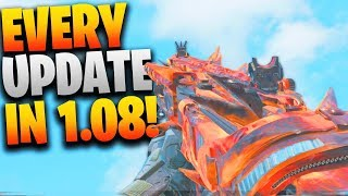 Everything That CHANGED In the NEW 1.08 UPDATE In Black Ops 4! (COD BO4 1.08 Patch Notes)