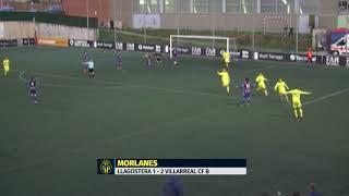Resumen Llagostera 2 - 2 Villarreal CF B