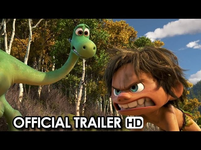 The Good Dinosaur Official Trailer #2 (2015) HD