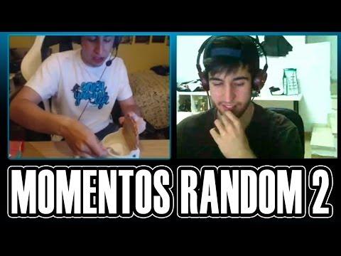MOMENTOS RANDOM EN SKYPE #2 | MUCHAS RISAS CON ELYAS Y VALLE | RETO | Josemi