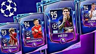 CHAMPIONS LEAGUE BUNDLE PACKS OPENING ! champion masters Messi and Griezmann In fifa Mobile 19