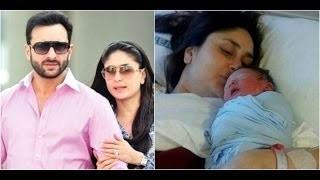 Saifeena Specially Decorated Room For Taimur   Kareena's Fake Picture With The Baby Going Viral