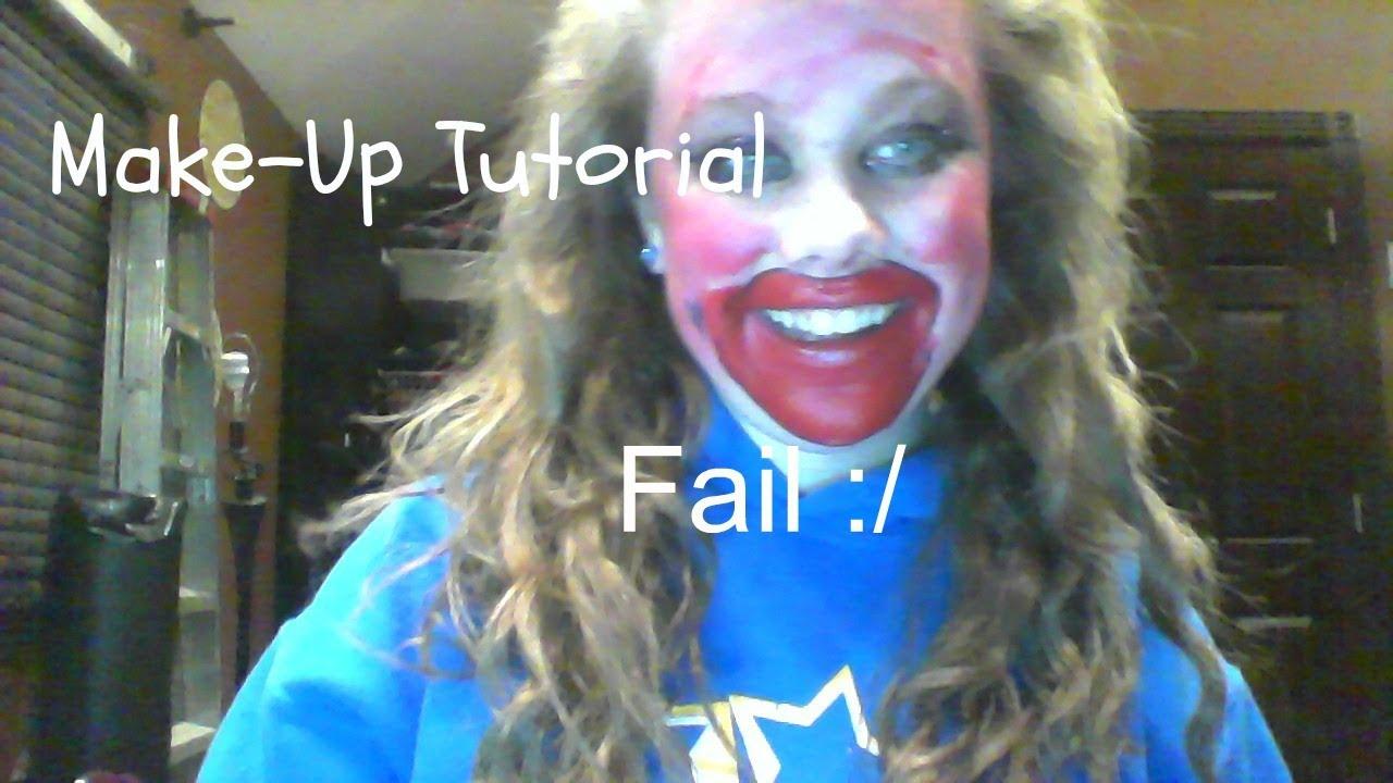 Makeup Tutorial Fail Must
