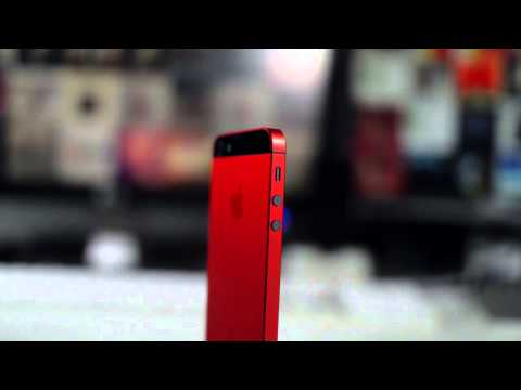 The Red iPhone 5 - MendMyi Color Lab Review + Giveaway