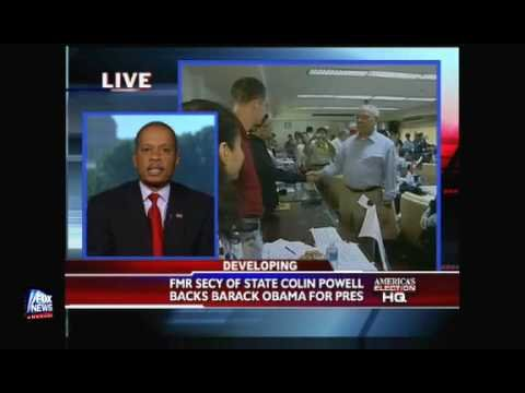 Uncle Juan Tom Williams Thinks Powell Endorsed Obama Cuz He Black!