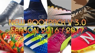 PES 2013 | New Bootpack V3.0 | Season 2016/2017