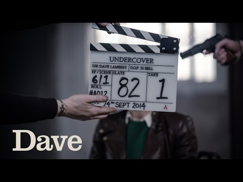 Go behind the scenes of Dave's crime caper, Undercover, starring Daniel Rigby, Sarah Alexander, Ryan Sampson and Brett Goldstein. You can catch-up with Under...