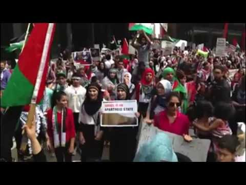 Gaza protests sweeping across the world