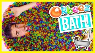 BATH FULL OF ORBEEZ CHALLENGE!