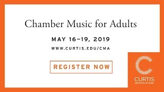 Chamber Music for Adults 2019