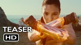 Wonder Woman Trailer #3 Teaser (2017) Gal Gadot, Chris Pine Action Movie HD