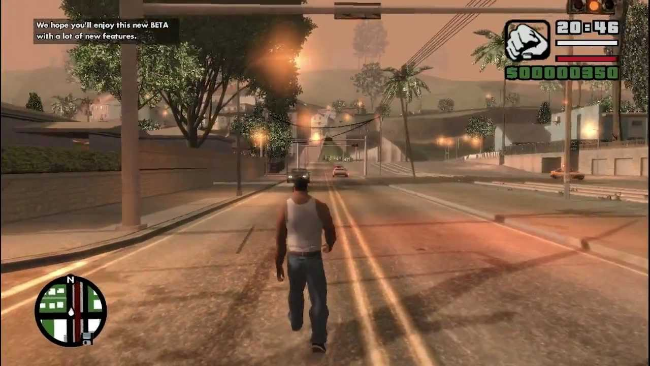 GTA IV - San Andreas Gameplay Test (Mod) (1) - High ...