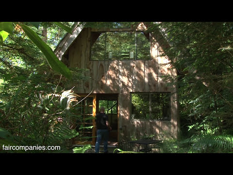 Off-grid, handcrafted life on Oregon farm & workshop