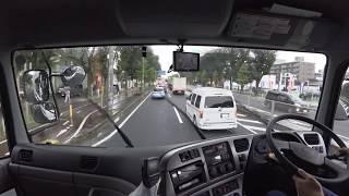 大型トラック運転中の出来事 事故現場通過  traffic accident