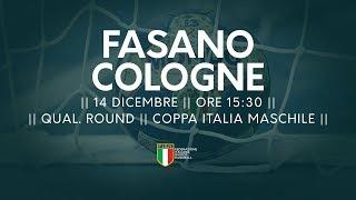 [Qual. Round] Coppa Italia M: Fasano - Cologne 35-28