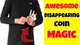 Awesome Disappearing Coin Magic Revealed - Magic Trick 10   Top Magic Tricks
