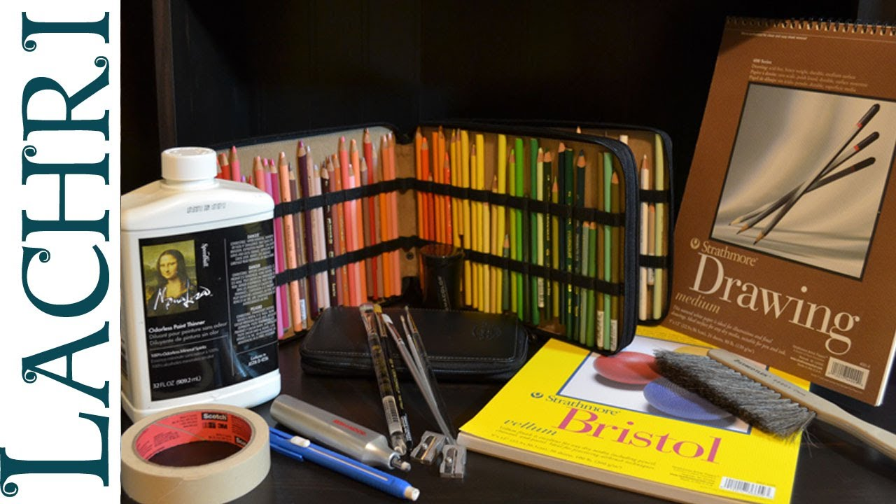 My Top 5 Favorite Colored Pencil Supplies Supply List