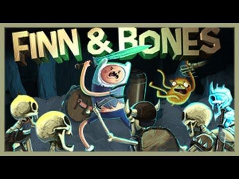 Adventure Time - Finn & Bones - Adventure Time Games
