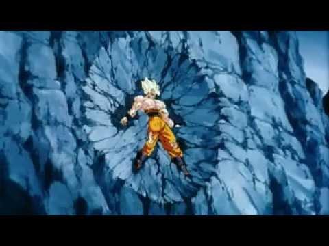 Goku Fights Broly Super Saiyan Broly vs Goku