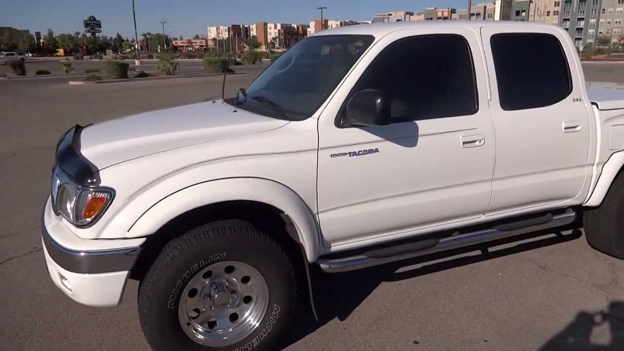 2002 Toyota Tacoma Trd 4 Door For Sale Las Vegas