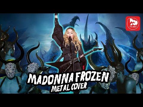 Madonna Frozen metal blast beat cover (Дикий барабанщик)