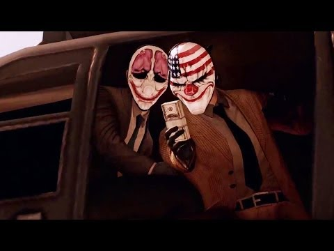 Payday 2 - Big Bank Heist DLC Trailer