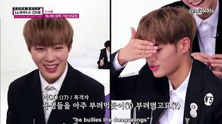 [ENG] 171114 Wanna One Comeback Special: Completely Honest Talk Time