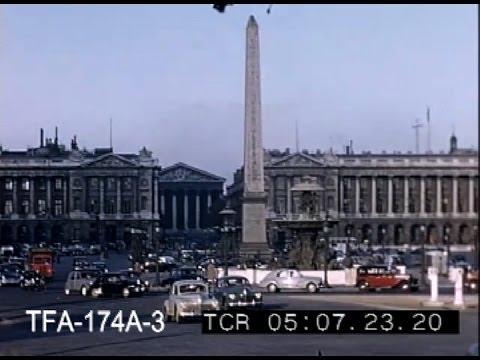 Pont Alexandre III, Paris 1955