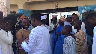 Ado gwanja,bello vocal da Salisu yara a wajen majalisin biking abdul - Muryatv