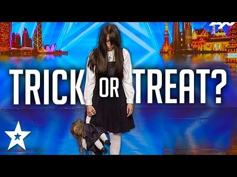 SCARIEST MAGIC TRICK! Creepy Girl Freaks Out Asia's Got Talent Judges