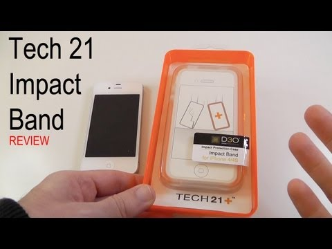 Tech 21 Impact Band Review for iPhone 4 & 4S