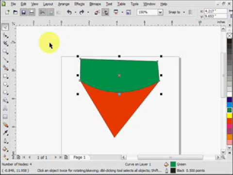 Basic Corel Draw X4 Tutorial