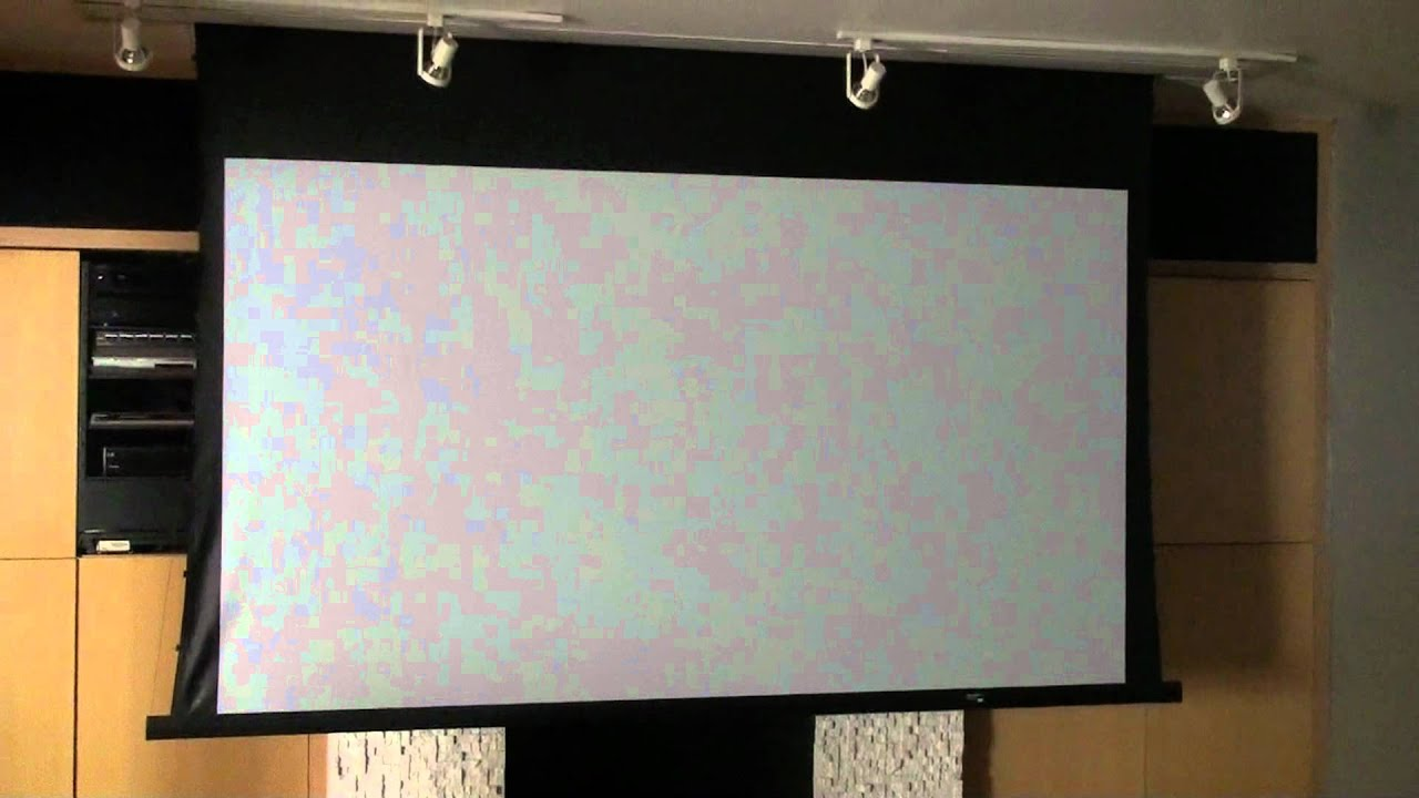 motorized da lite 120 projector screen nec projector